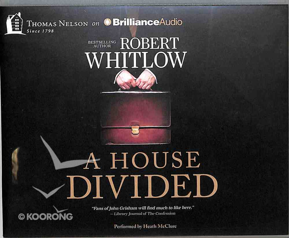 A House Divided (Unabridged, 12 Cds) CD
