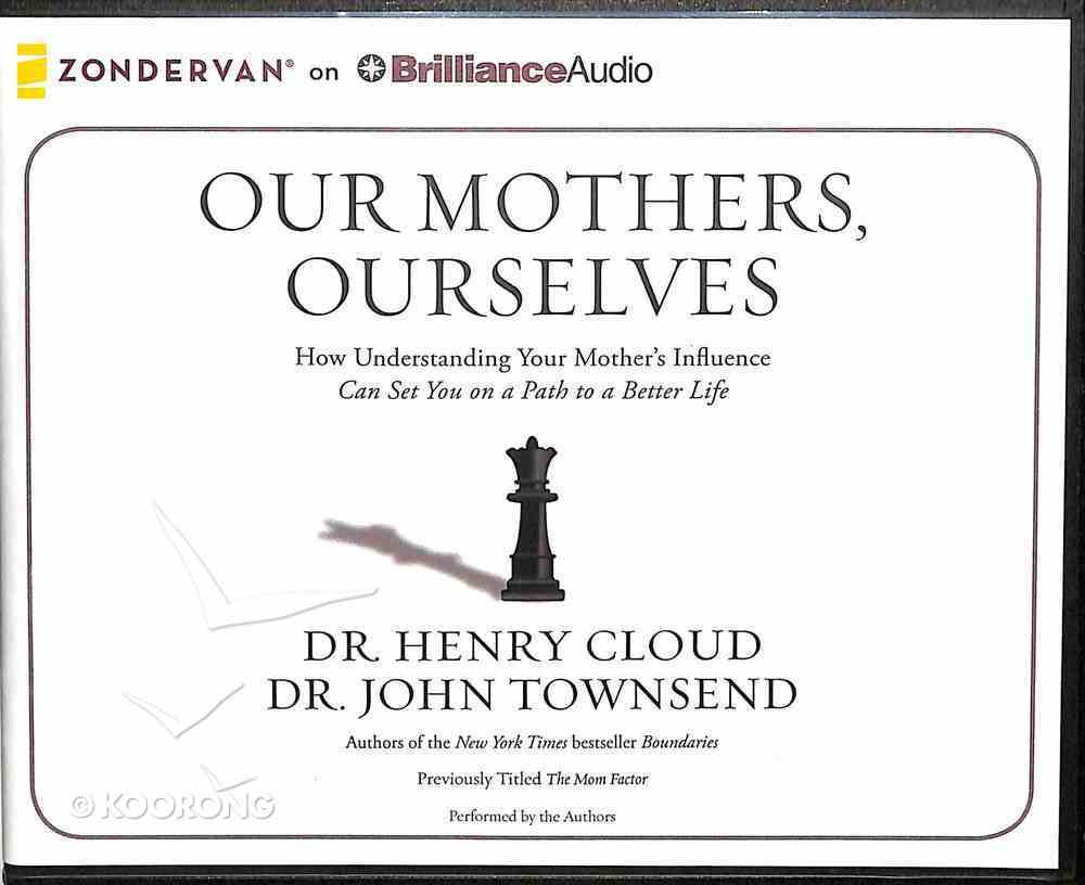 Our Mothers, Ourselves (Unabridged, 8 Cds) CD