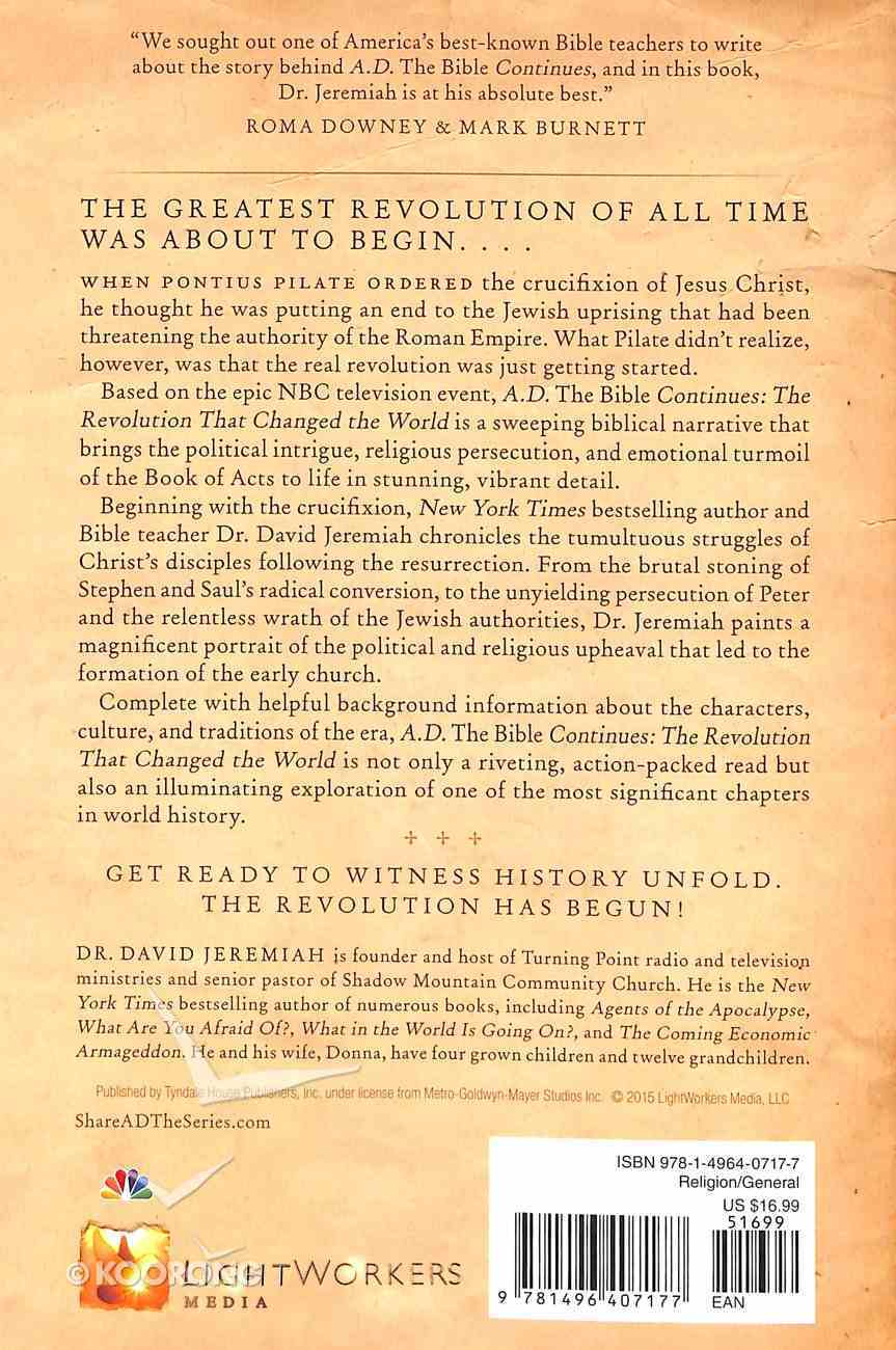 A.D.: The Revolution That Changed the World Paperback