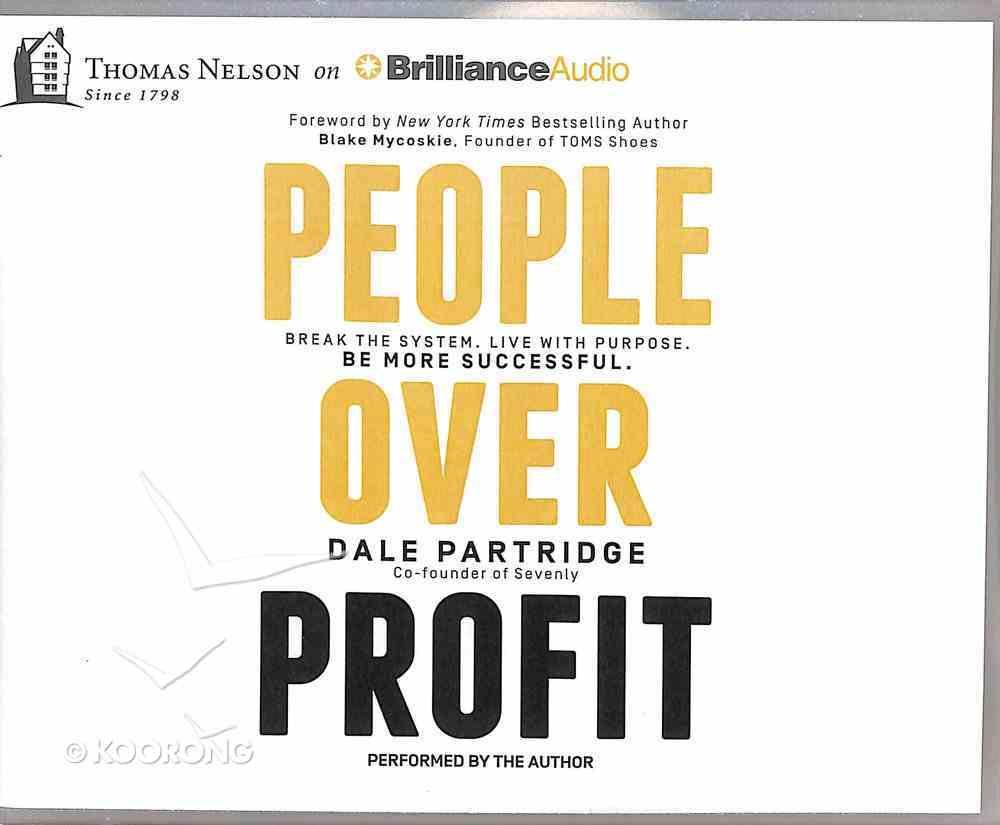 People Over Profit (Unabridged, 7 Cds) CD