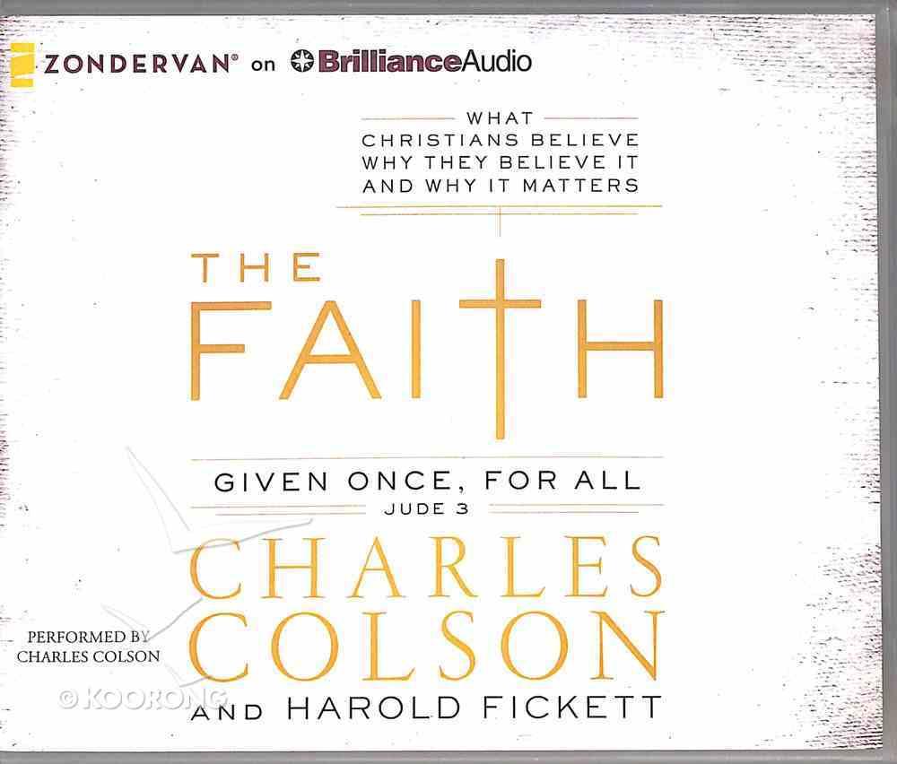 The Faith (Unabridged, 7 Cds) CD
