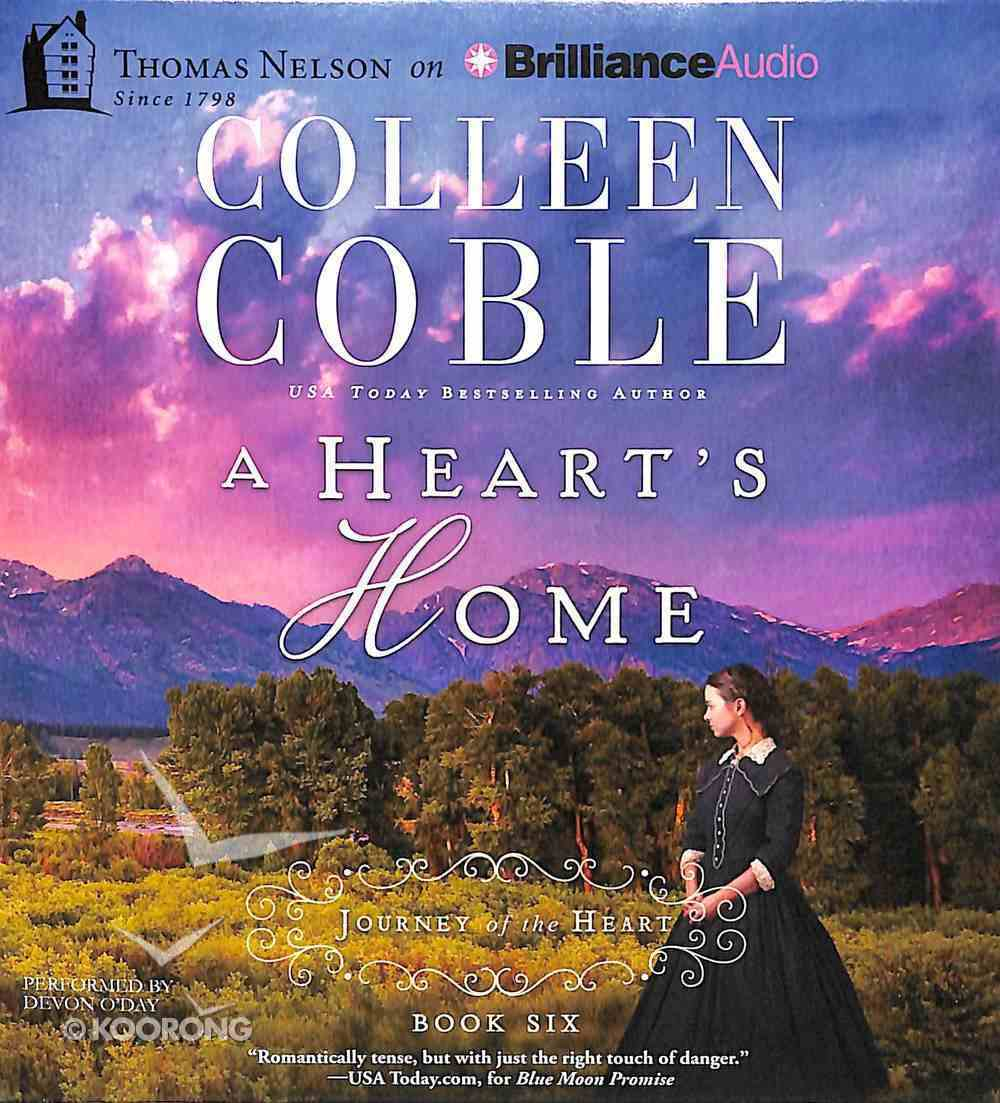 A Heart's Home (Unabridged, 5 CDS) (#06 in Journey Of The Heart Audio Series) CD