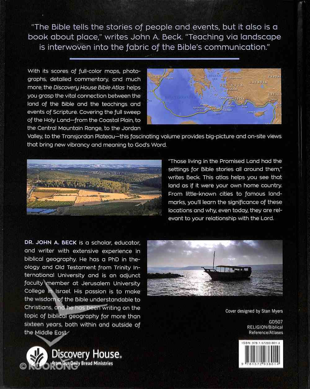 Discovery House Bible Atlas Hardback