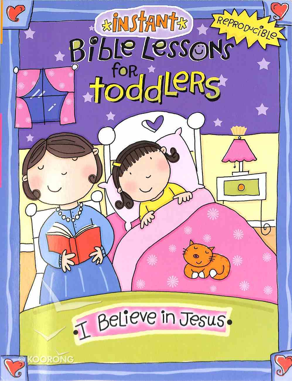 I Believe in Jesus (Reproducible, Ages 1-3) (Instant Bible Lessons Series) Paperback