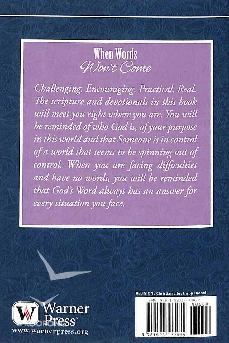 Care & Share: When Words Won't Come (Encouragement) (Care & Share The Heart Of God Series) Booklet