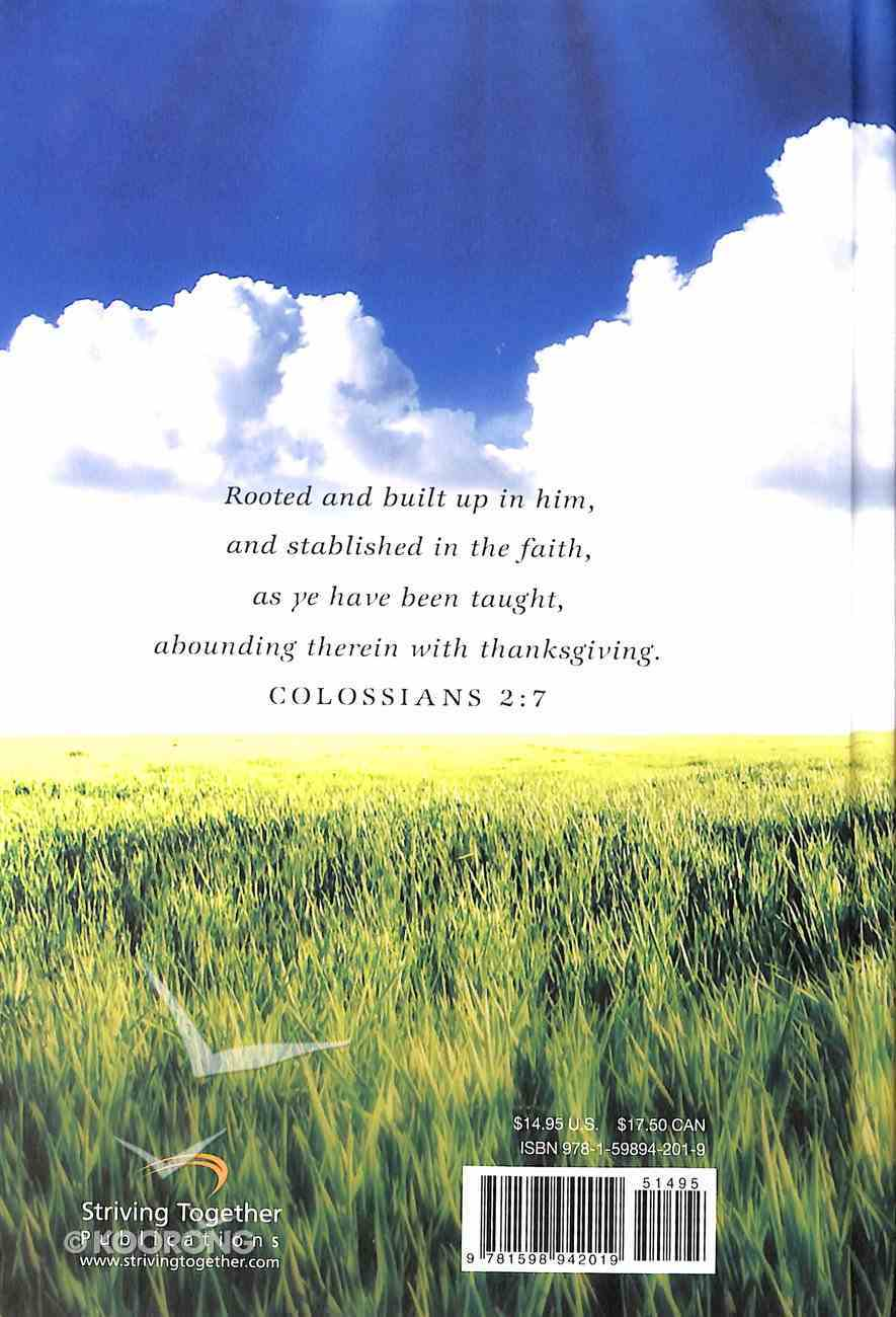 Rooted in Christ Hardback