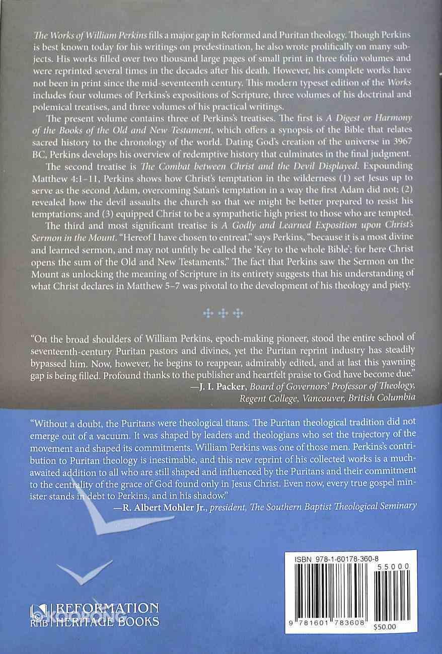 The Works of William Perkins (Vol 1) Hardback