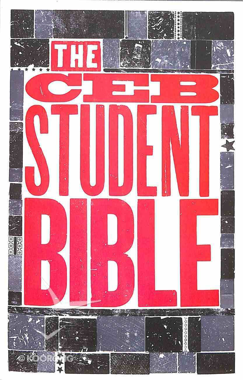 Ceb Student Bible Paperback