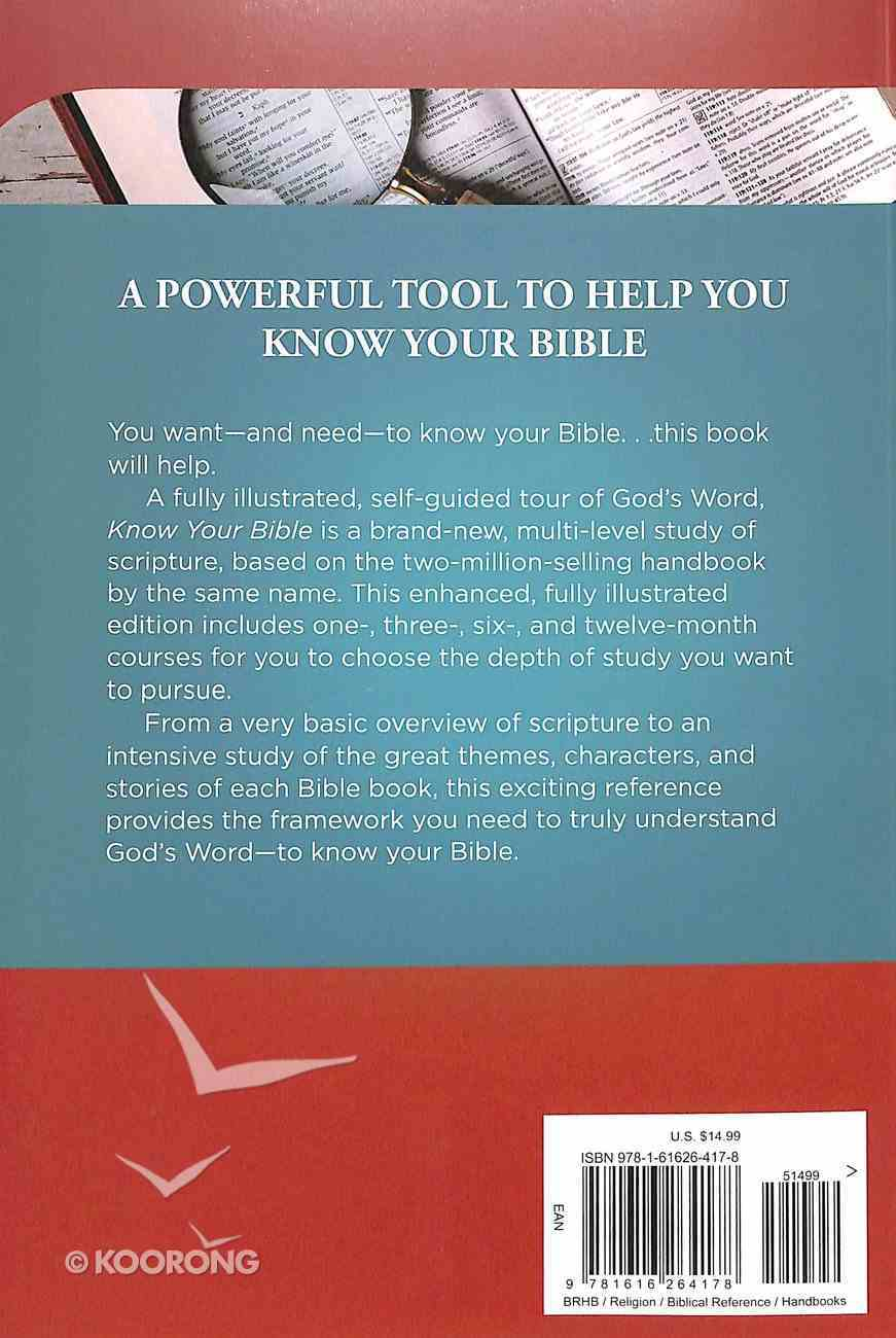 Know Your Bible Paperback