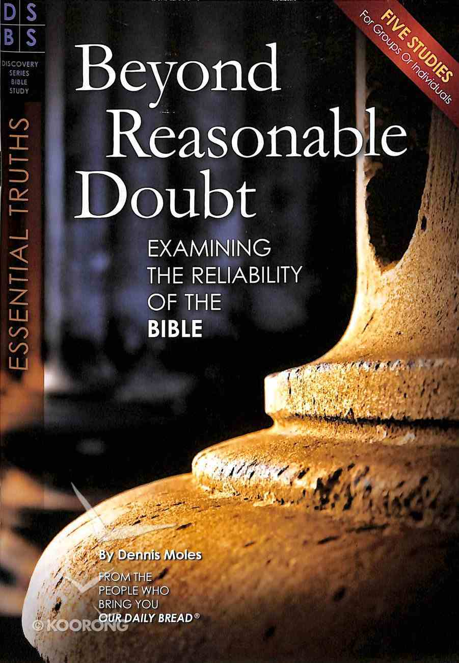 Beyond Reasonable Doubt (Discovery Series Bible Study) Paperback