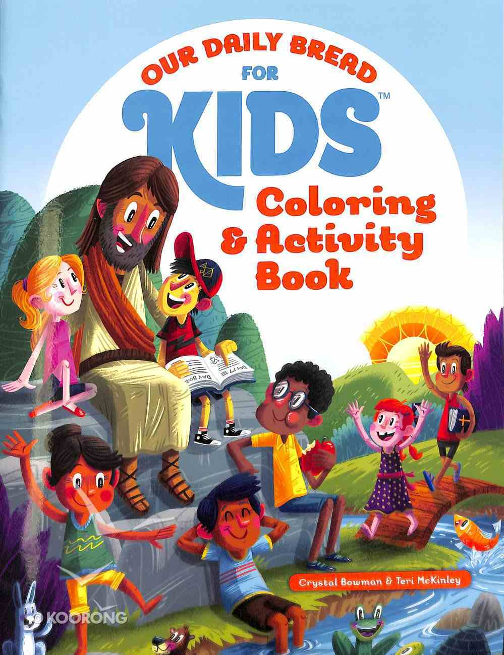 Coloring and Activity Book (Our Daily Bread For Kids Series) Paperback