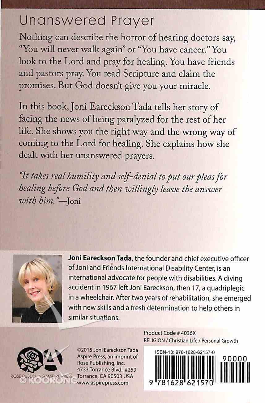Where's My Miracle: Unanswered Prayer Booklet