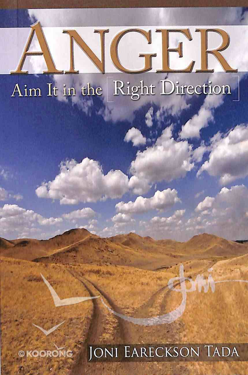 Anger: Aim It in the Right Direction Booklet