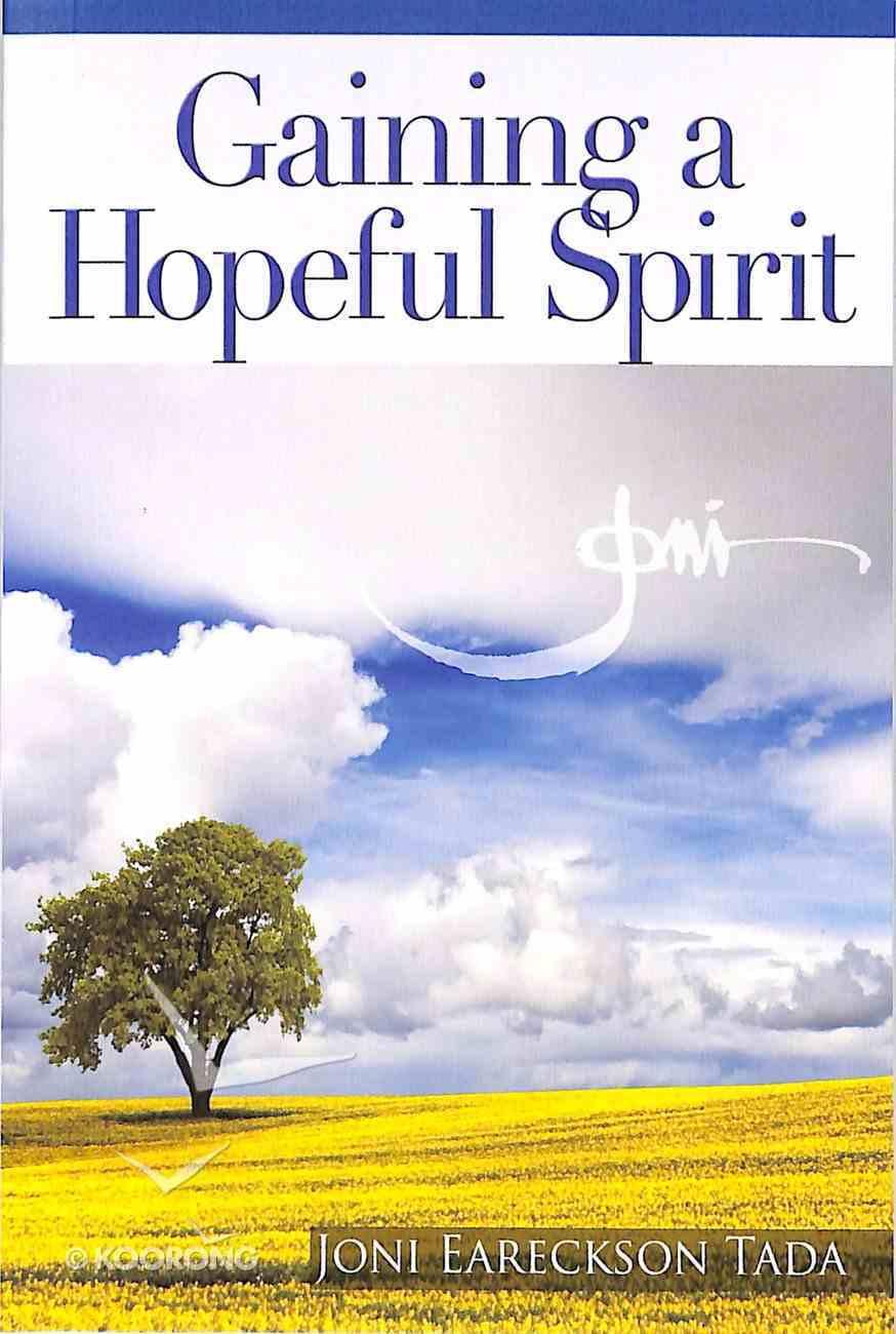Gaining a Hopeful Spirit Booklet