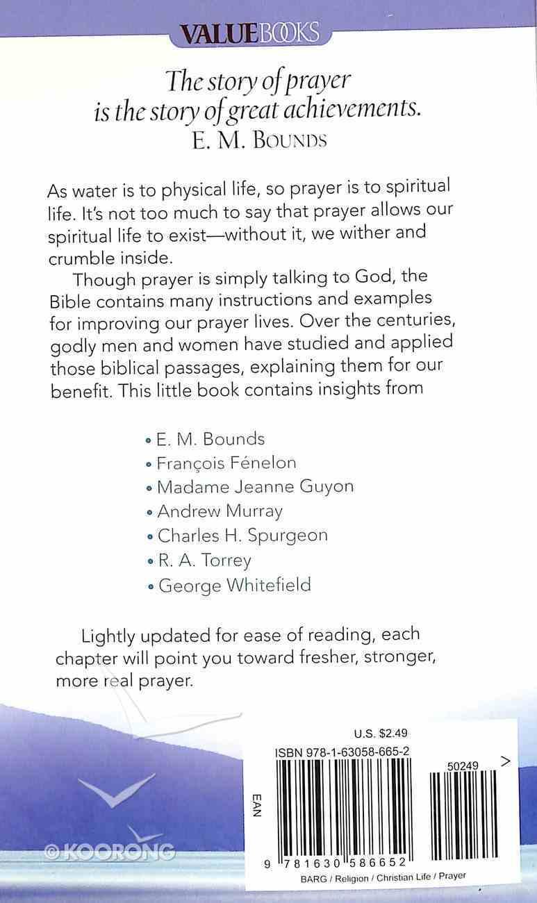 Value Books: A Six-Month Guide to Better Prayer Mass Market