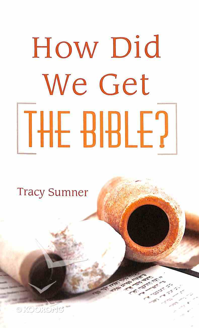 Value Books: How Did We Get the Bible? Mass Market
