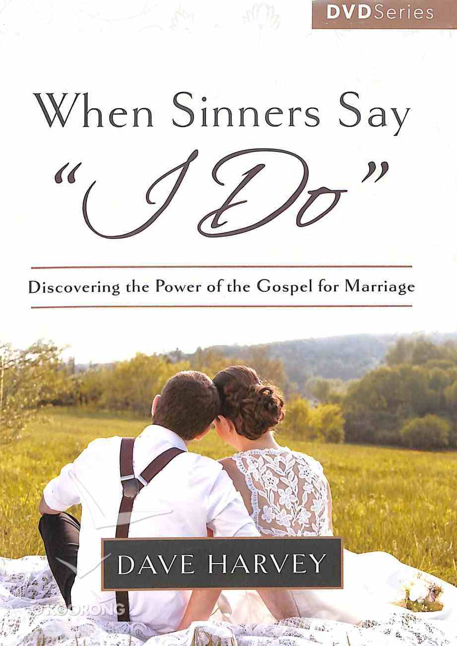 When Sinners Say 'I Do' (8 Sessions) (3hours, 15Mins) (Dvd) DVD