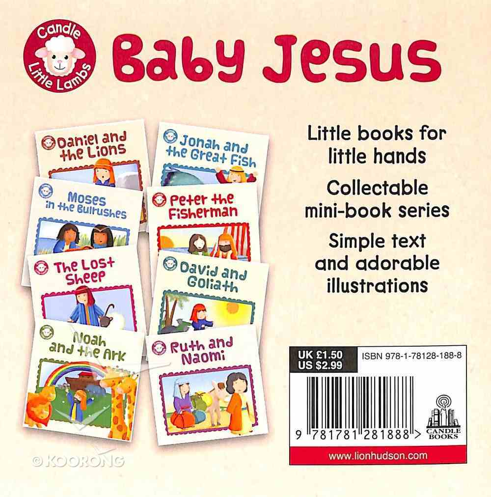 Baby Jesus (Candle Little Lamb Series) Paperback