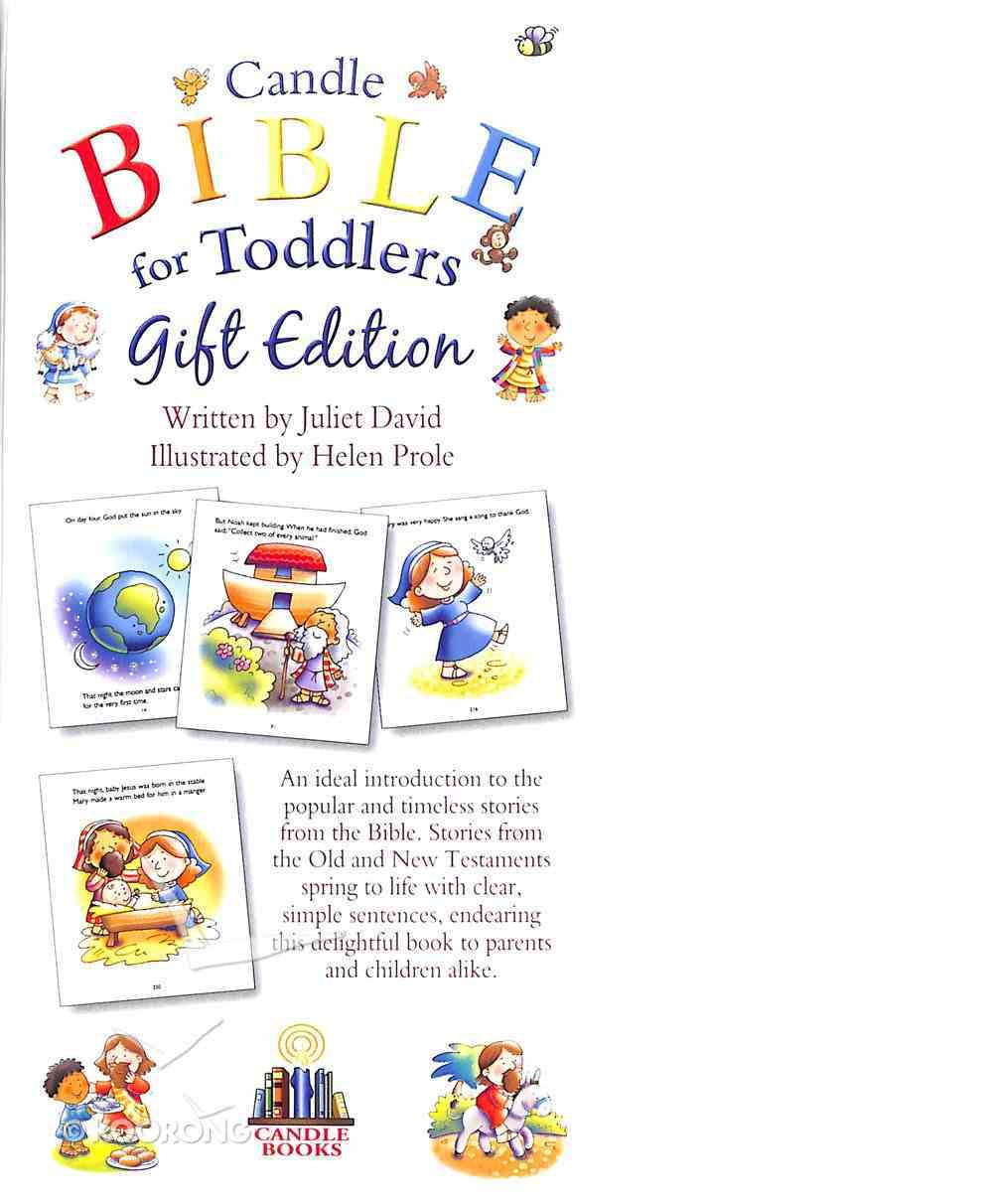 Candle Bible For Toddlers - Gift Edition (White) (Candle Bible For Toddlers Series) Imitation Leather