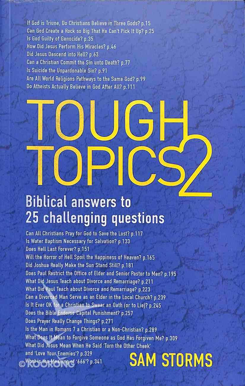 Tough Topics 2 PB Large Format