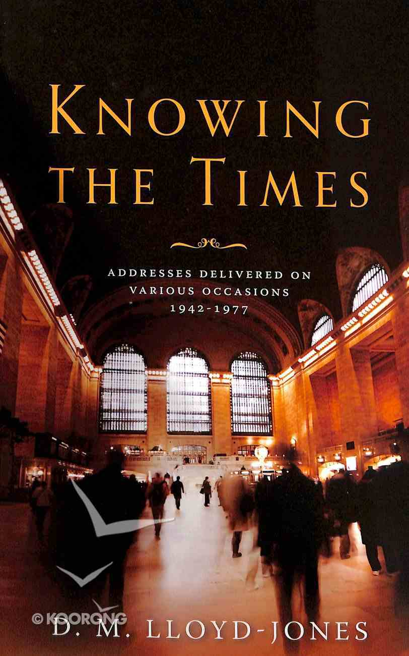Knowing the Times Hardback