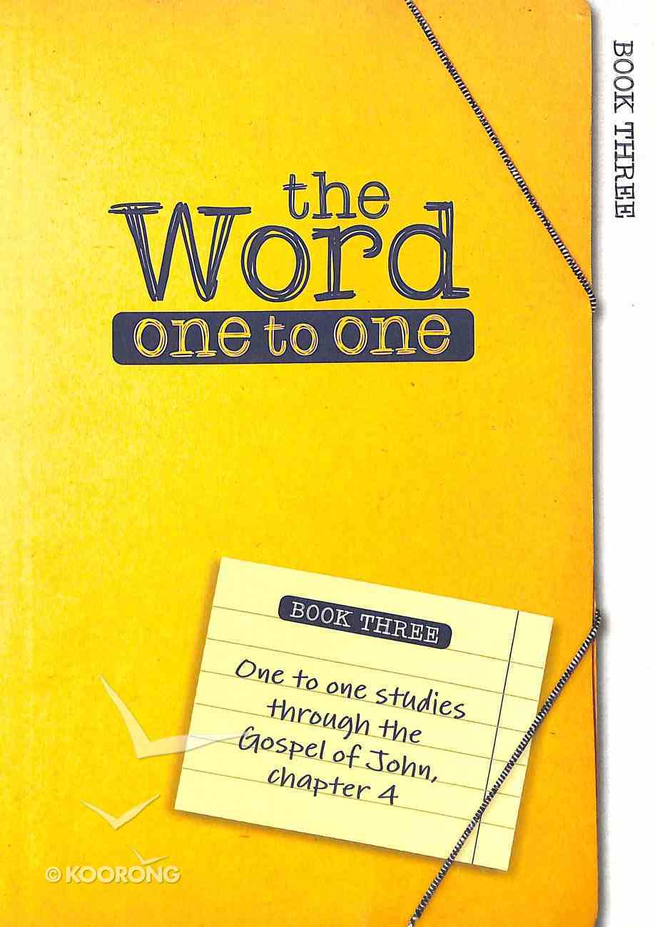 John 1-4 (Pack One) (#01 in The Word One To One Series) Paperback