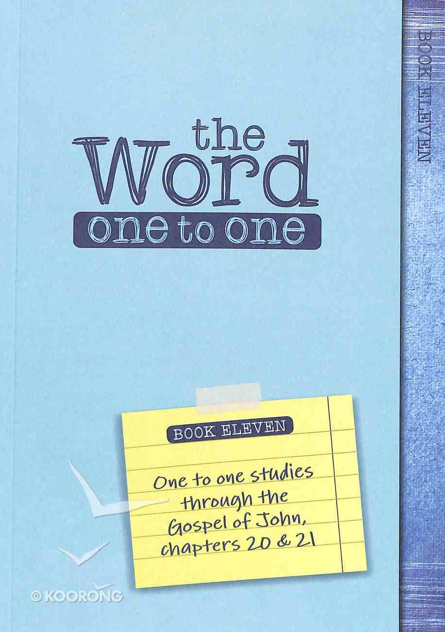 John 18-21 (Pack Four) (#04 in The Word One To One Series) Pack