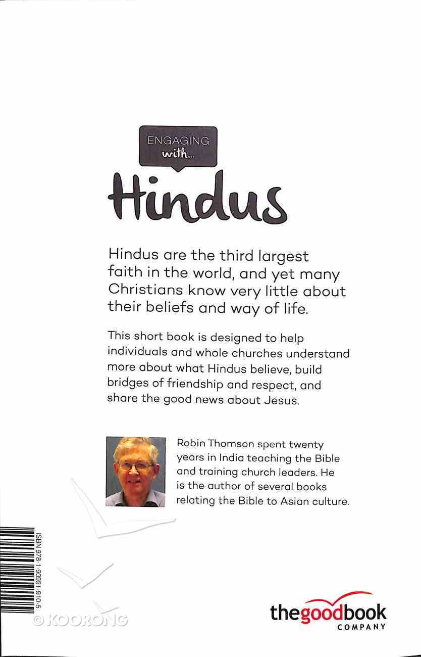 Engaging With Hindus: Understanding Their World; Sharing the Good News Paperback
