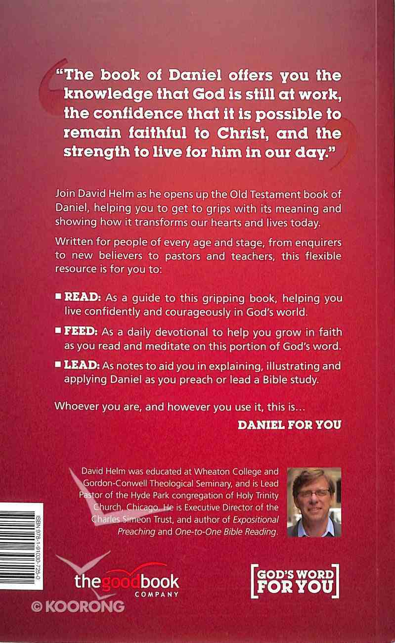 Daniel For You (God's Word For You Series) Paperback