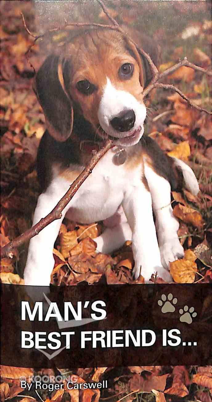 Man's Best Friend Is... Booklet