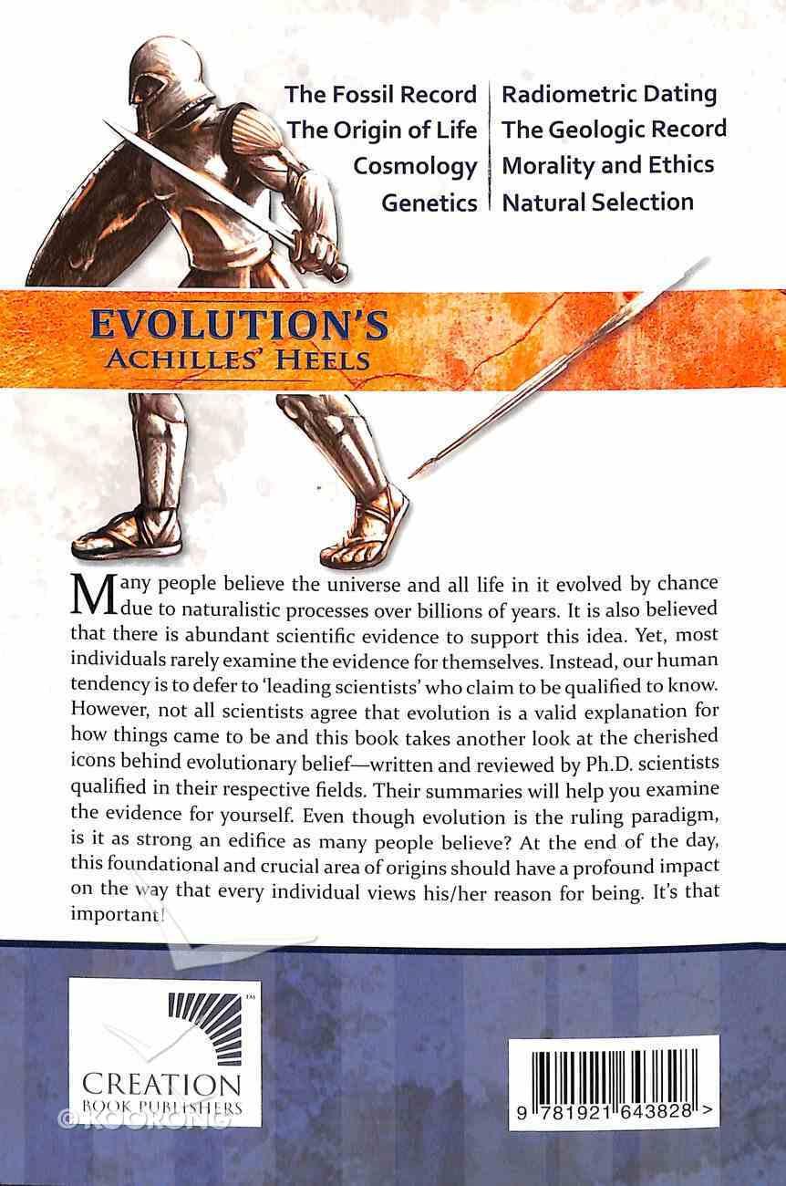 Evolution's Achilles' Heels Paperback