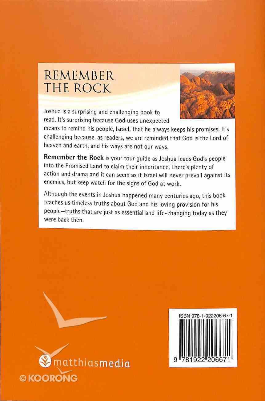 Remember the Rock (Joshua) (Interactive Bible Study Series) Paperback
