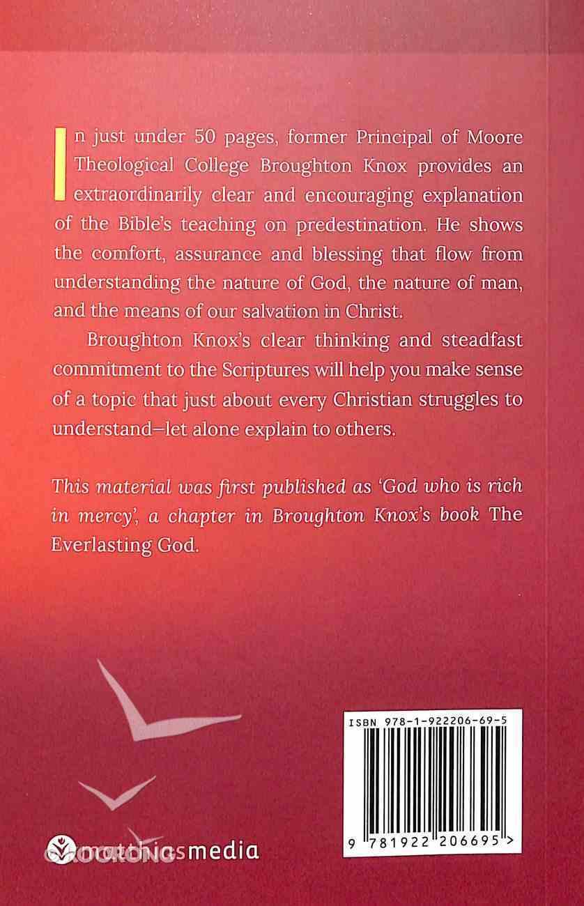 The Everlasting Purpose - Understanding Predestination (Brief Books (Matthias) Series) Paperback