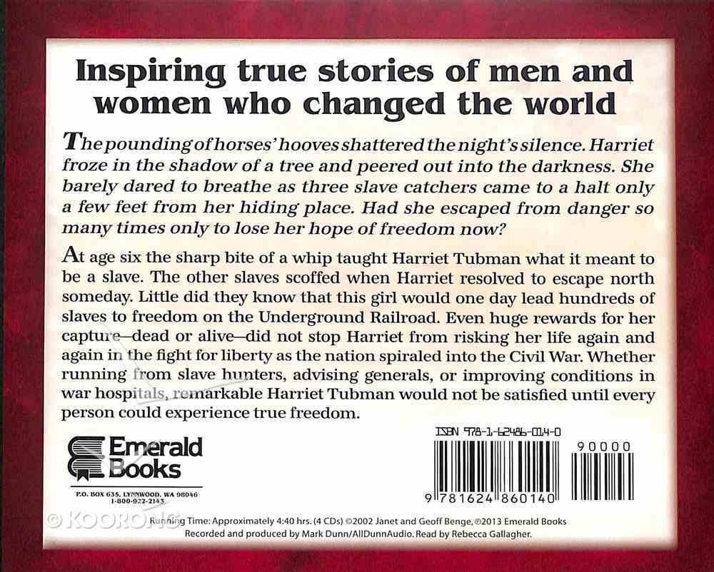 Harriet Tubman - Freedom Bound (Unabridged, 4 CDS) (Heroes Of History Series) CD