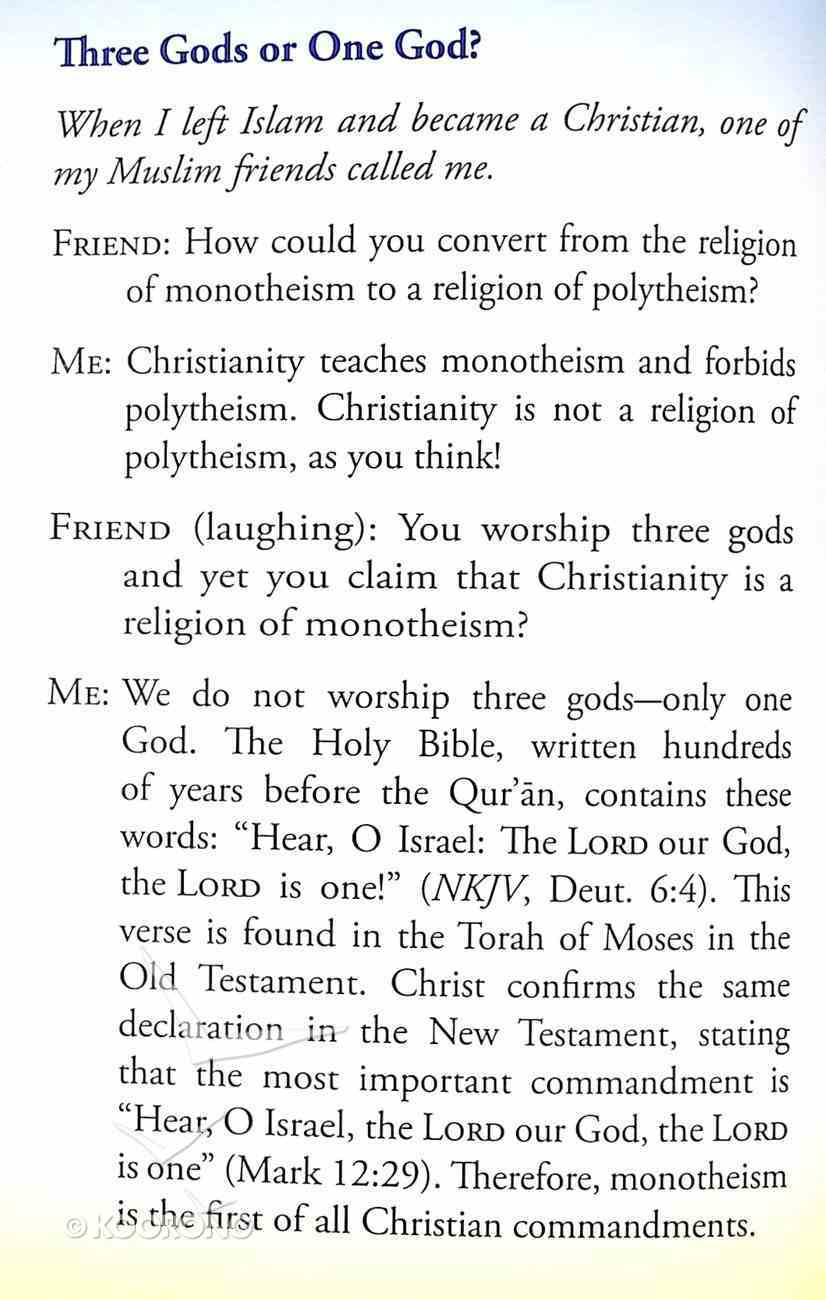 Do Christians Worship Three Gods? (#105 in Gospel For All Nations Series) Booklet
