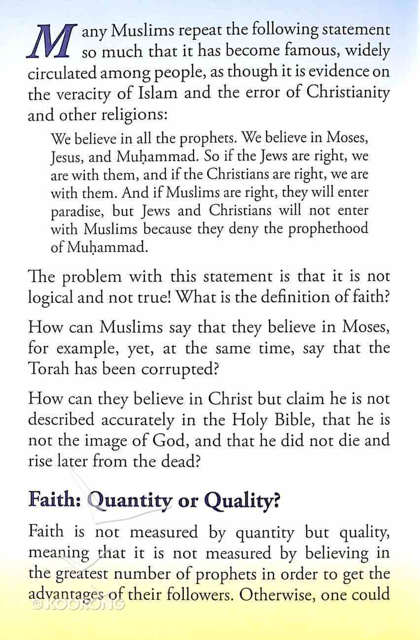 Do Muslims Believe in All Prophets? (#102 in Gospel For All Nations Series) Booklet