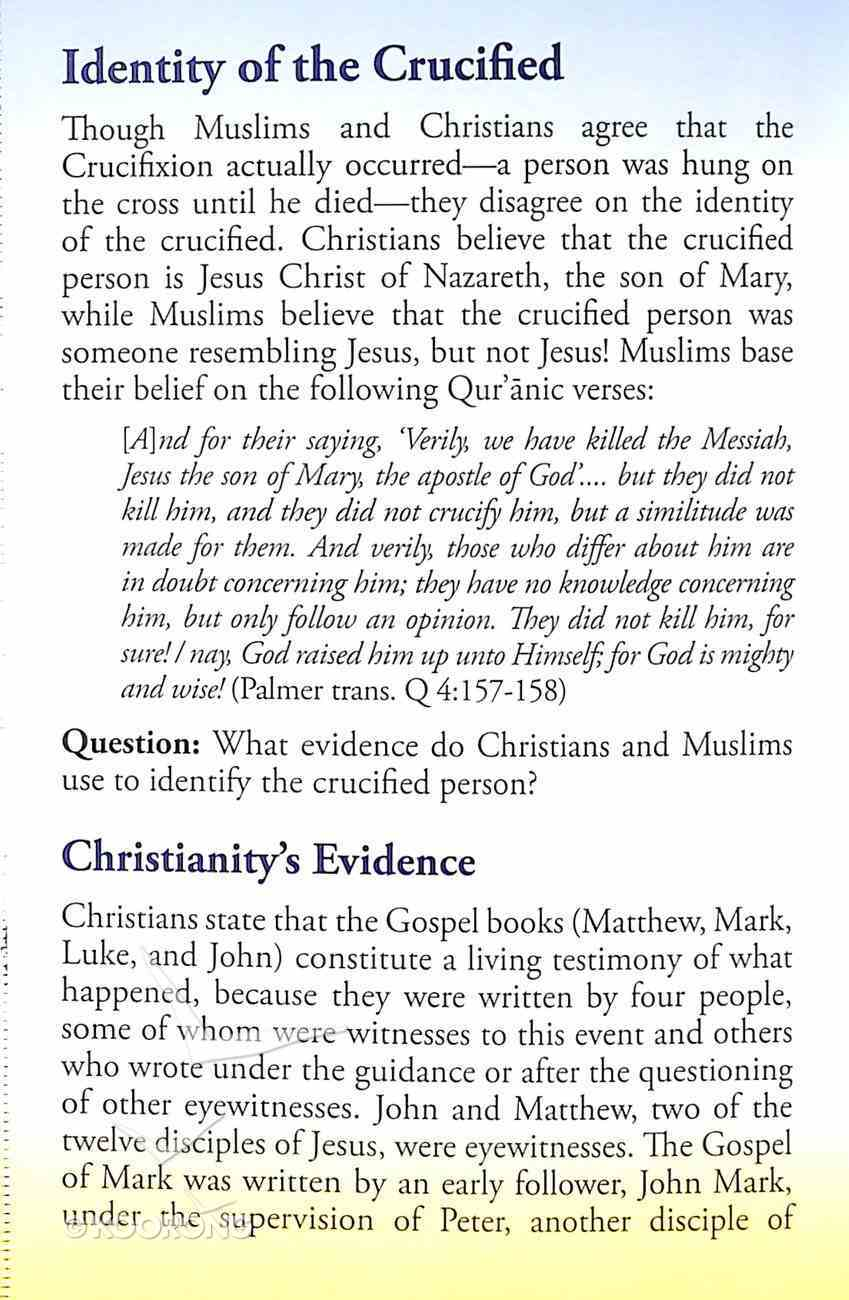 Was Christ Crucified? Or Someone Else? (#103 in Gospel For All Nations Series) Booklet