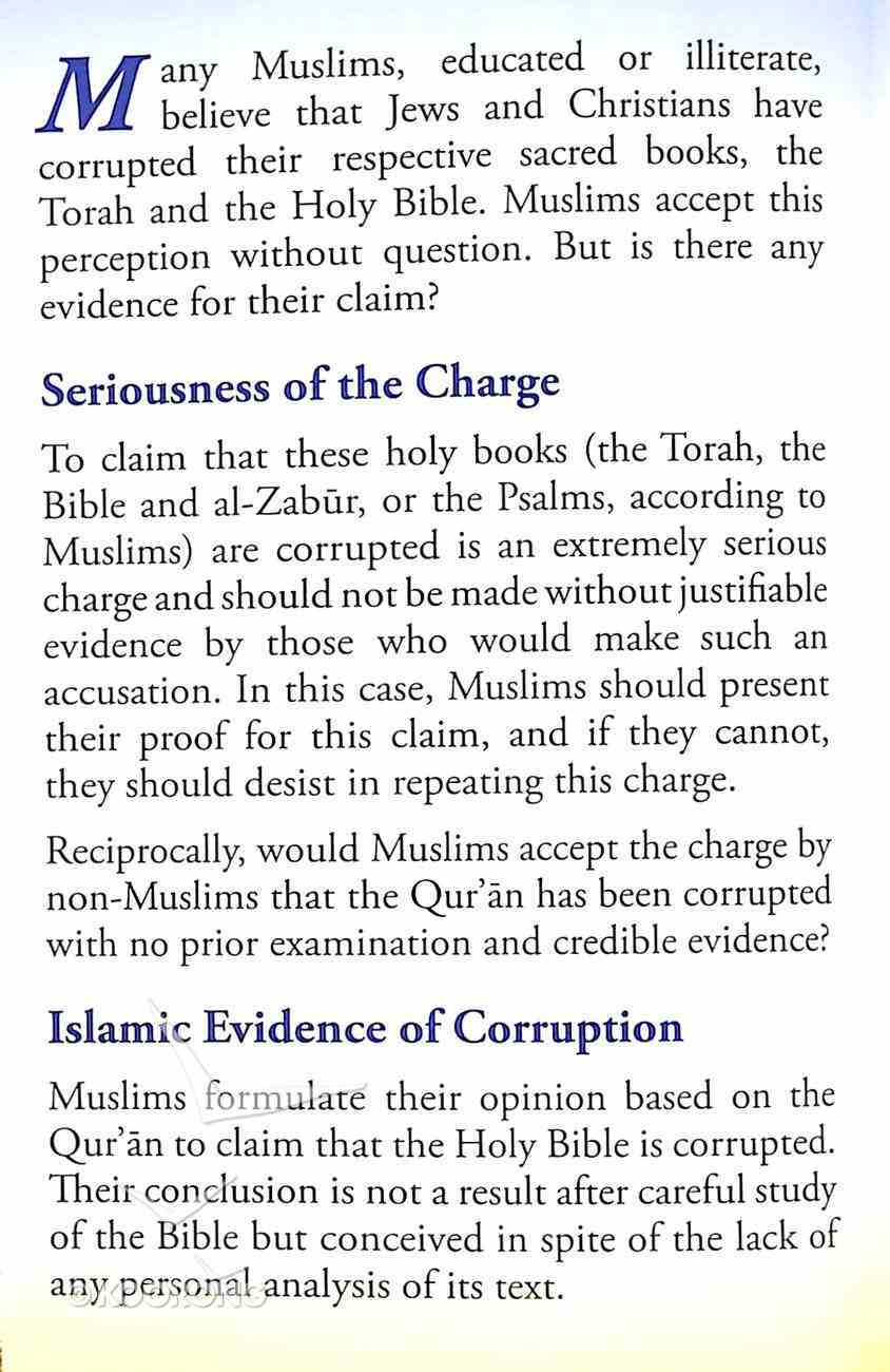 Where Does the Qur'an State the Bible is Corrupted? (#107 in Gospel For All Nations Series) Booklet