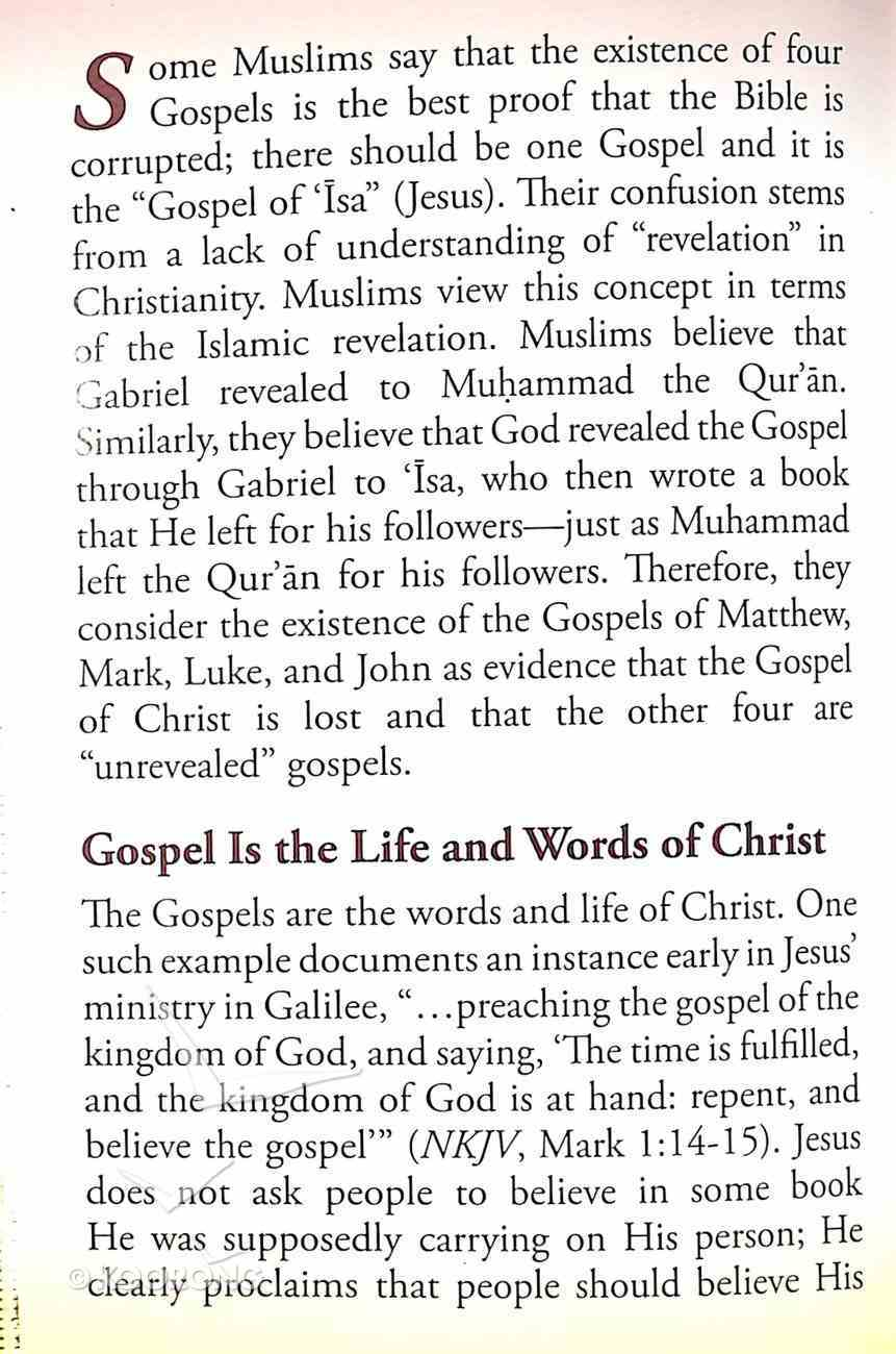 Is the Gospel Four Books Or One? (#108 in Gospel For All Nations Series) Booklet