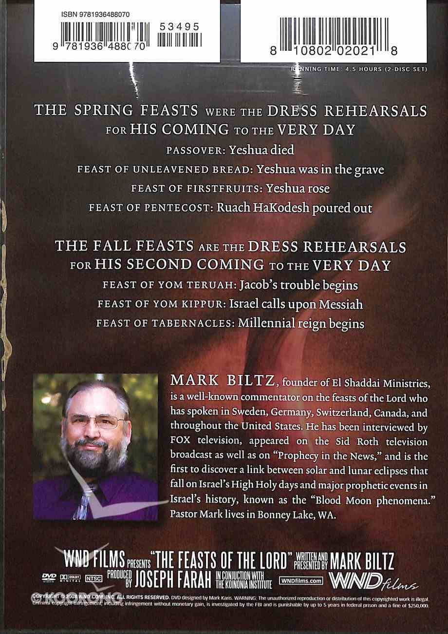 The Feasts of the Lord DVD