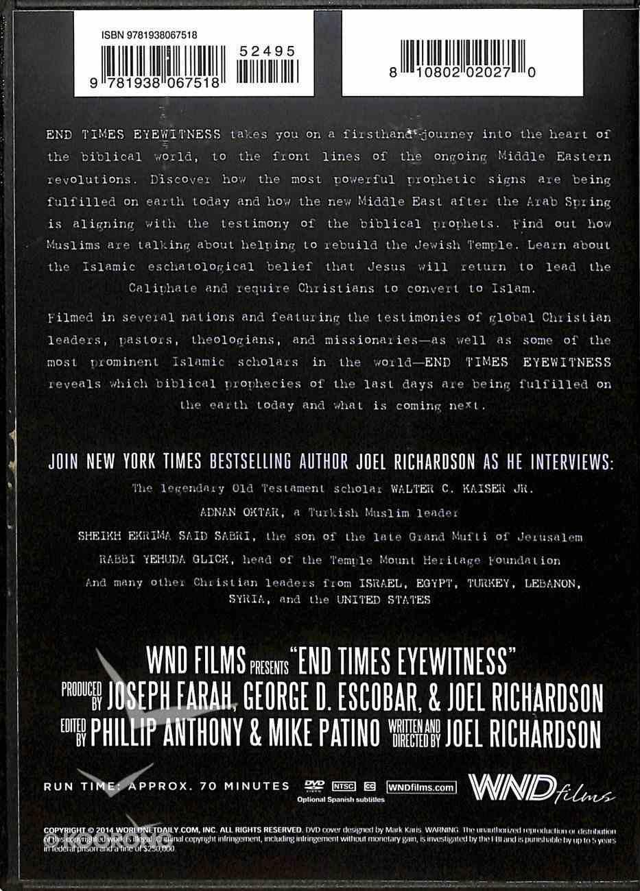 End Times Eyewitness DVD