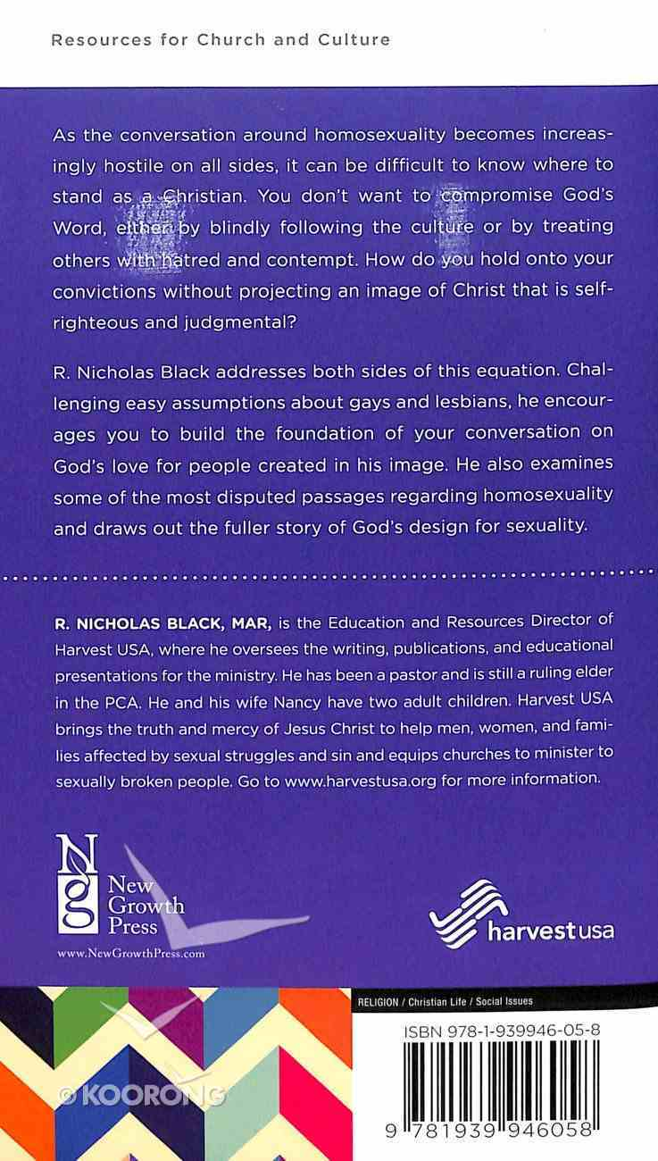 Homosexuality and the Bible (Personal Change Minibooks Series) Booklet