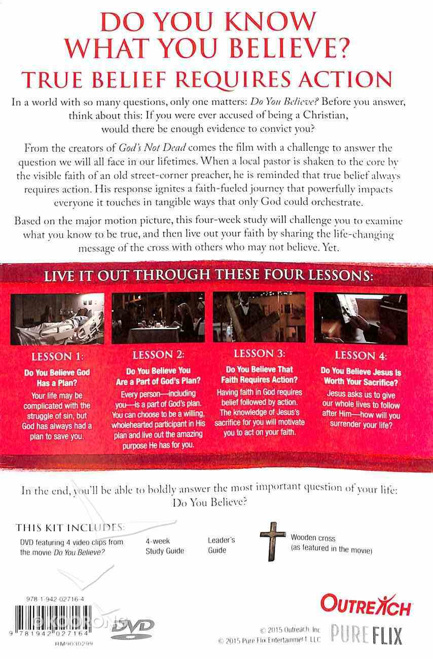 Do You Believe? DVD Based Study (Inc Study Guide And Leader's Guide) DVD