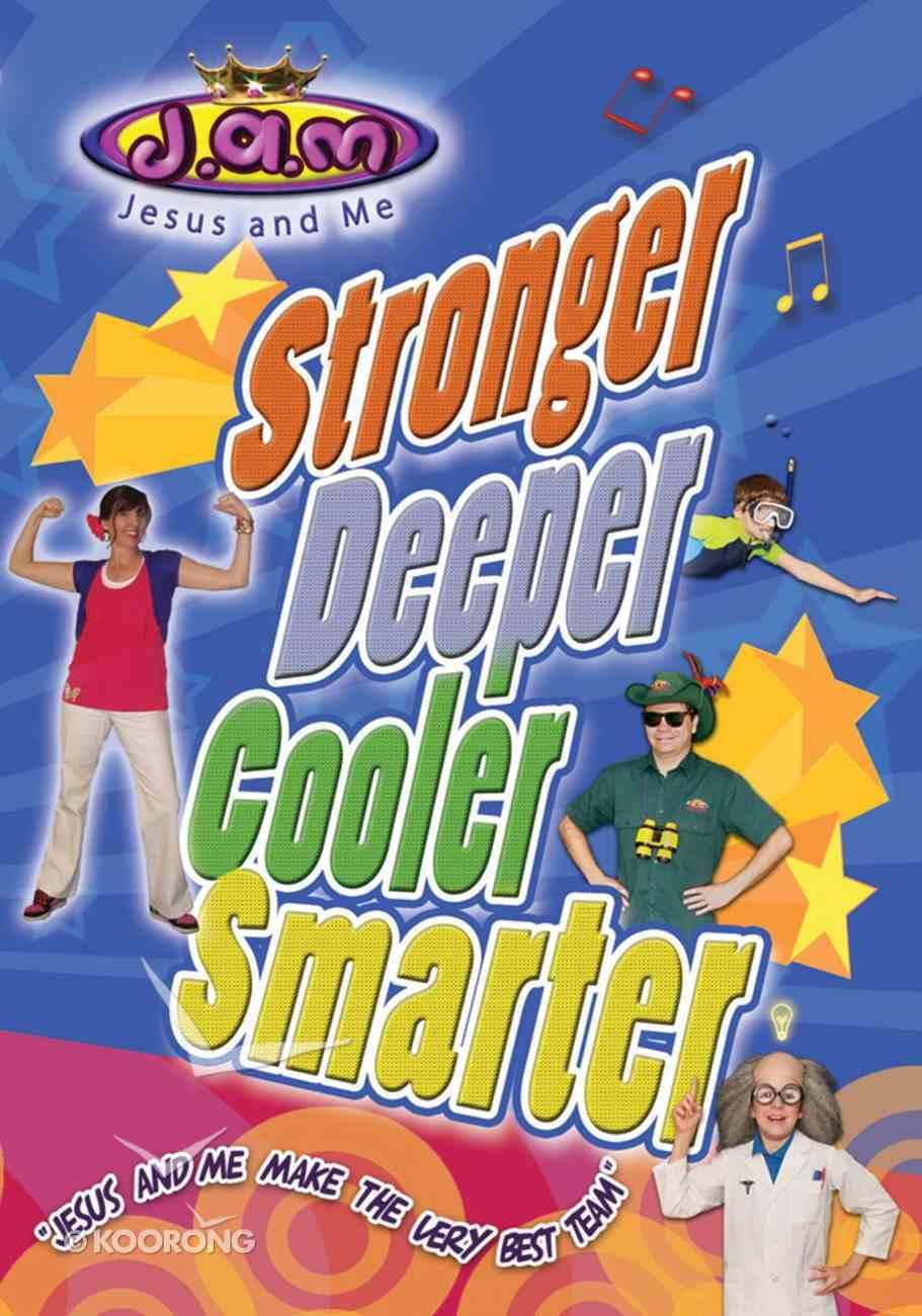 Stronger, Deeper, Cooler, Smarter DVD