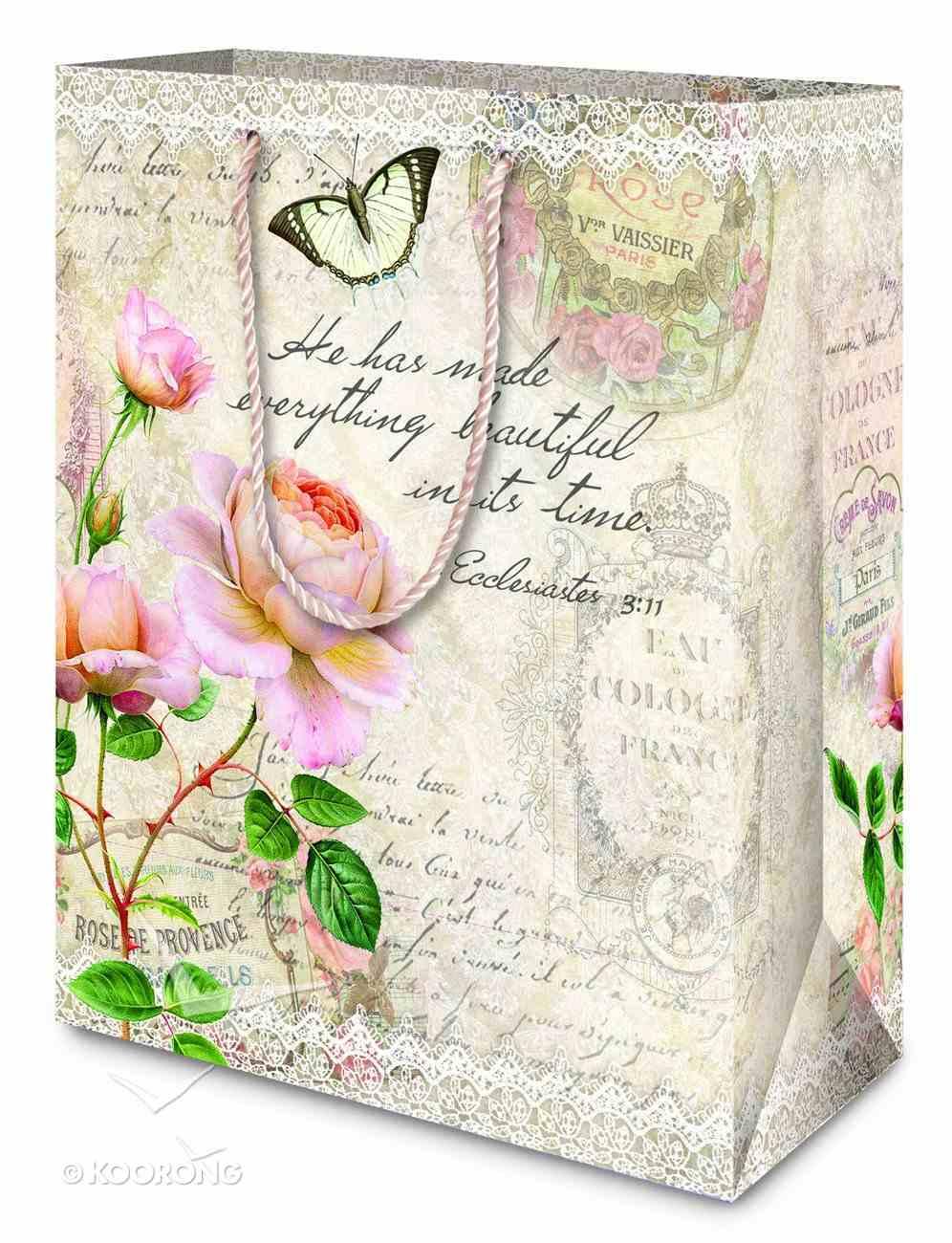 Gift Bag Medium (Vintage Rose Collection) Stationery