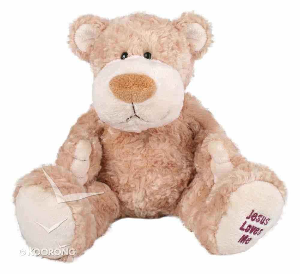 Ozzie Bear: Jesus Loves Me 33Cm Soft Goods