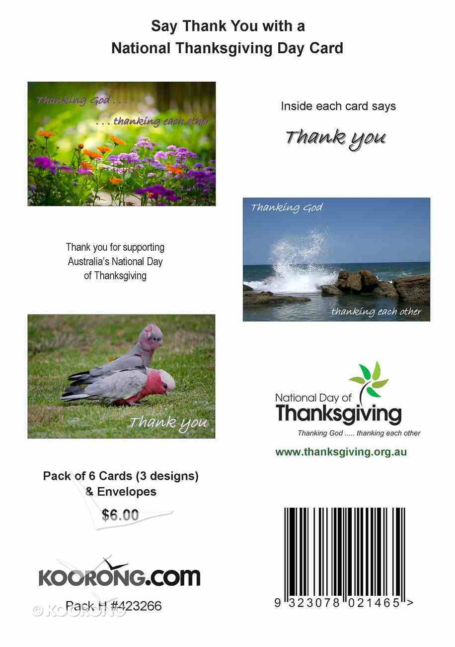 National Day of Thanks Card Pack I: Multi Pack Cards