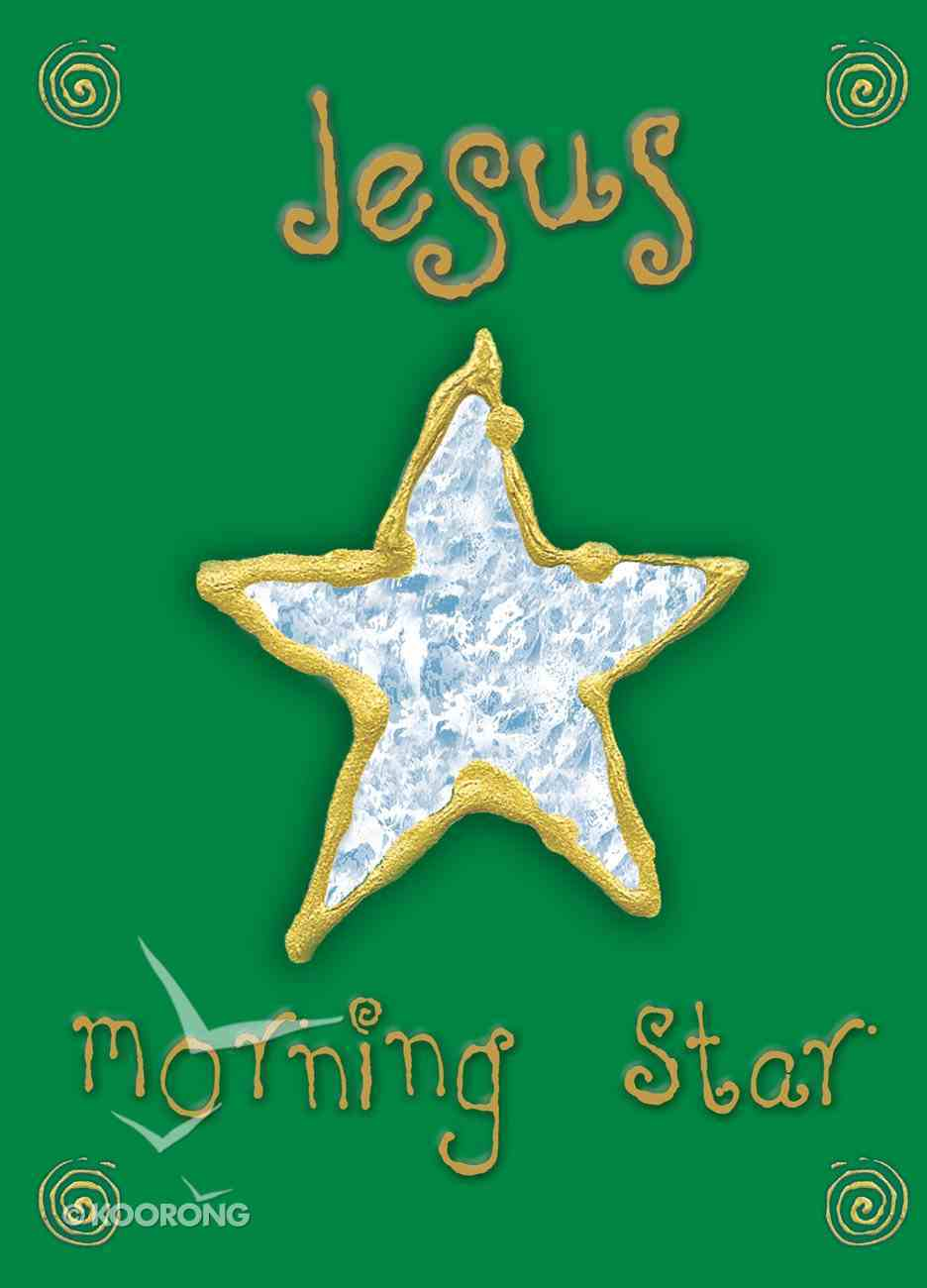 Christmas Boxed Cards: Jesus Morning Star (Star) Box