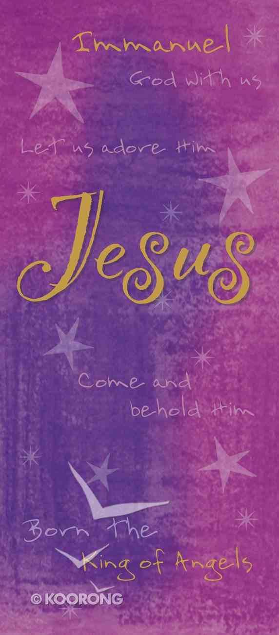Christmas Boxed Cards: Jesus (Purple) Box