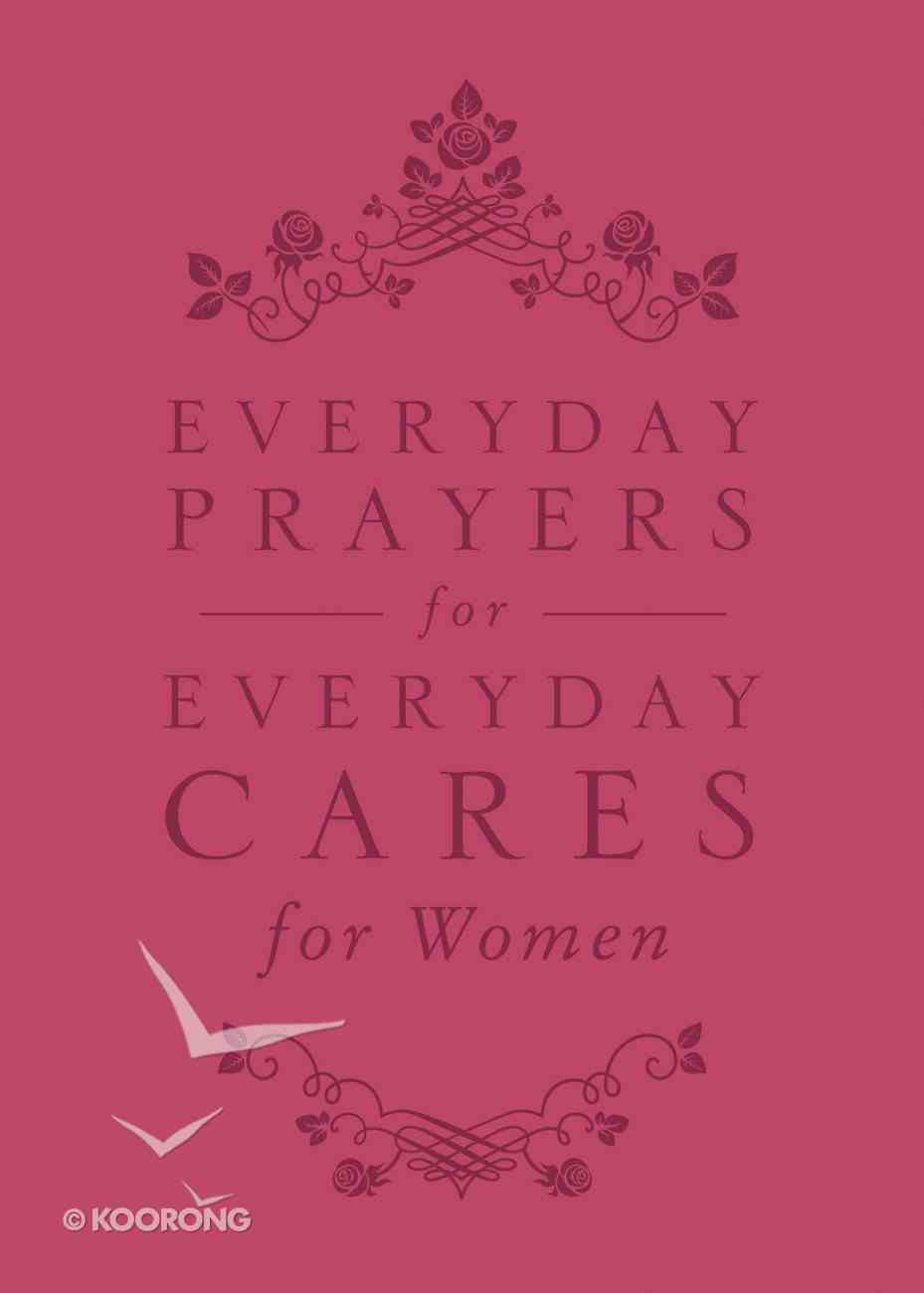 Everyday Prayers For Everyday Cares For Women Genuine Leather